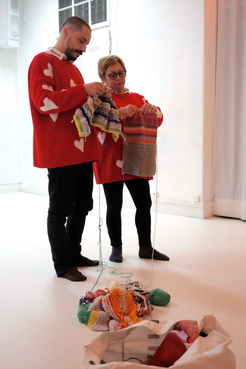 joão costa espinho e sua mãe espaço experimental cem foto valentina parravicini
