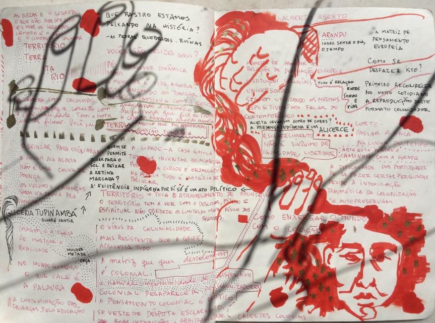 desenhos da mostra ameríndia: percursos do cinema indígena nobrasil